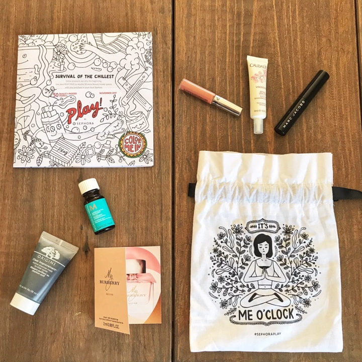November 2017 Sephora PLAY! Box Review